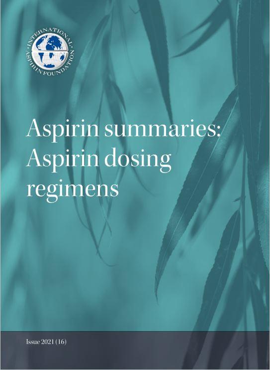 Aspirin Summaries 16 2021 Cover Photo